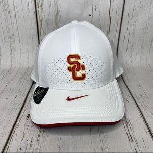 NEW Nike aerobill USC Trojans one size cap white